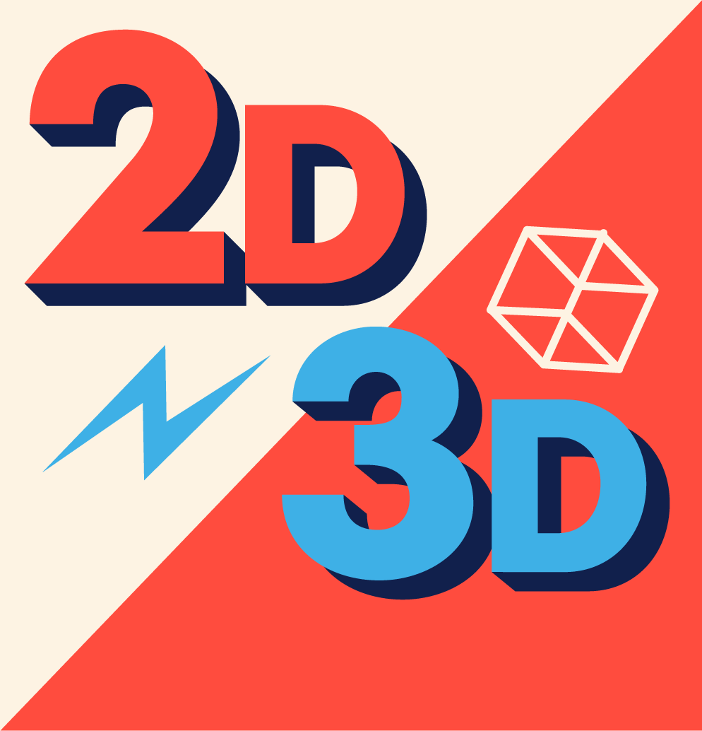 2D and 3D Animations